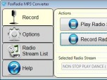 FoxRadio MP3 Converter Screenshot