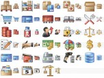 Large Logistics Icons Screenshot
