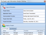 Speak Logic Information Analysis Desktop