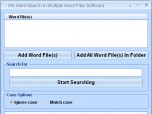 MS Word Search In Multiple Word Files Software