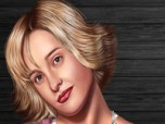 Allison Mack Dress Up Game Screenshot
