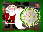 7art Santa Claus Clock ScreenSaver Screenshot