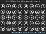 App Bar Icons for Windows Phone 7