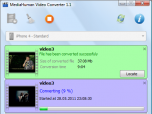MediaHuman Video Converter Screenshot