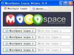 Login2Info MocoSpace Login Helper Screenshot