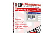 Reporting Services 2D Barcode CRI Screenshot