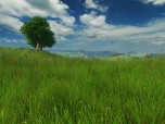 Grassland 3D Screensaver Screenshot