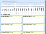 Weekly Calendar Schedule Software