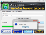 Appnimi All-In-One Password Unlocker Screenshot