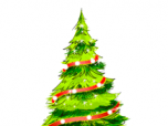 Painted Christmas Tree Screenshot