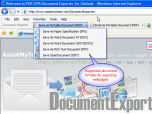 PDF/XPS Exporter for Internet Explorer