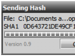 VT Hash Check Screenshot
