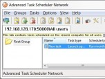 Advanced Task Scheduler Network Screenshot