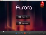 Aurora Blu ray Player for Mac Screenshot