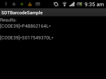 SD-TOOLKIT Barcode Reader SDK for Android