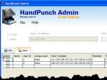 HandPunch Admin Screenshot