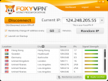 FoxyVPN Screenshot