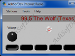 AshSofDev Internet Radio Screenshot