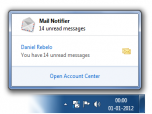 Mail Notifier Screenshot