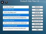 Hide Files for Playbook Screenshot
