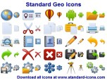 Standard Geo Icons Screenshot