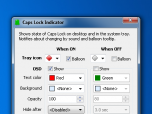 Caps Lock Indicator Screenshot