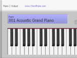 PC 73 Virtual Piano Keyboard Screenshot