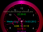 Voice Desktop Clock Screenshot