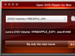 Open DVD Ripper for Mac Screenshot