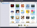 Xilisoft iPhone Apps Transfer for Mac Screenshot