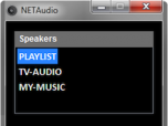 NETAudio Player
