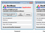PassBoom Password Generator Application