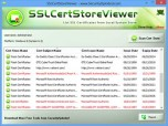 SSL Certificate Store Viewer