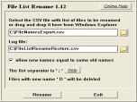 File List Rename