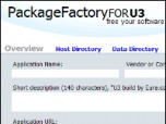 PackageFactory for U3