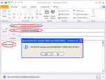 SecureEmail for Outlook 2010